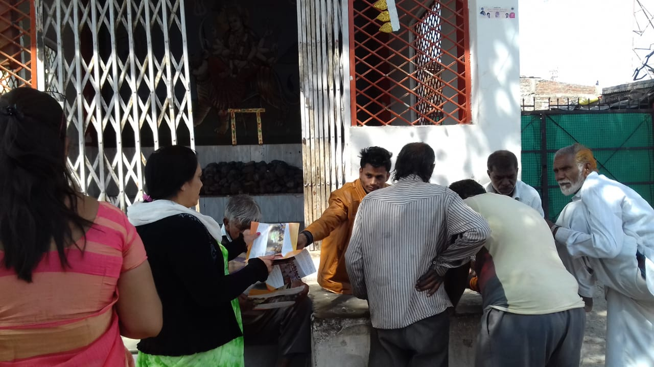 Door to Door Admission Campaign by TIGPS Indore